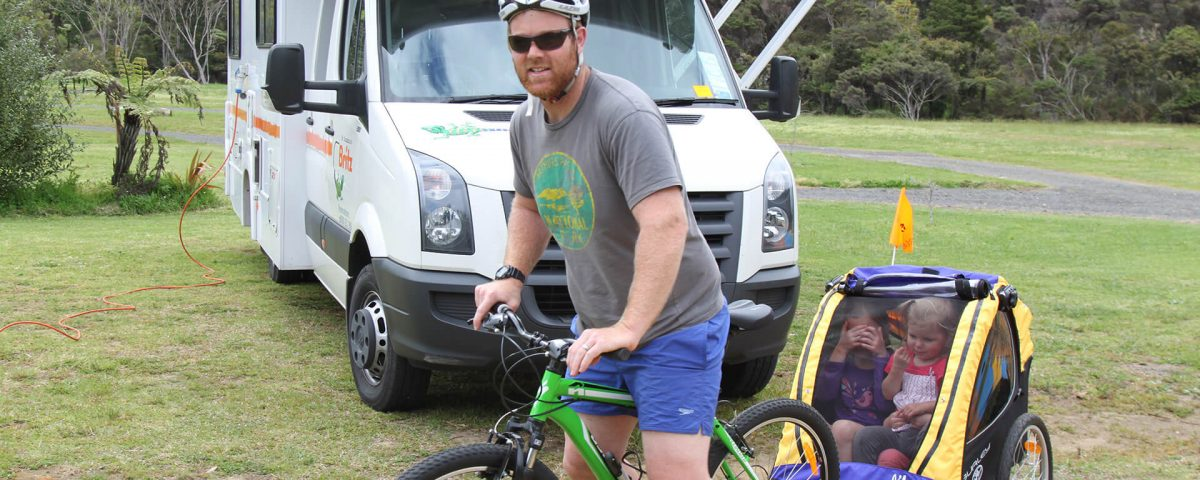 fietshuur bij camper