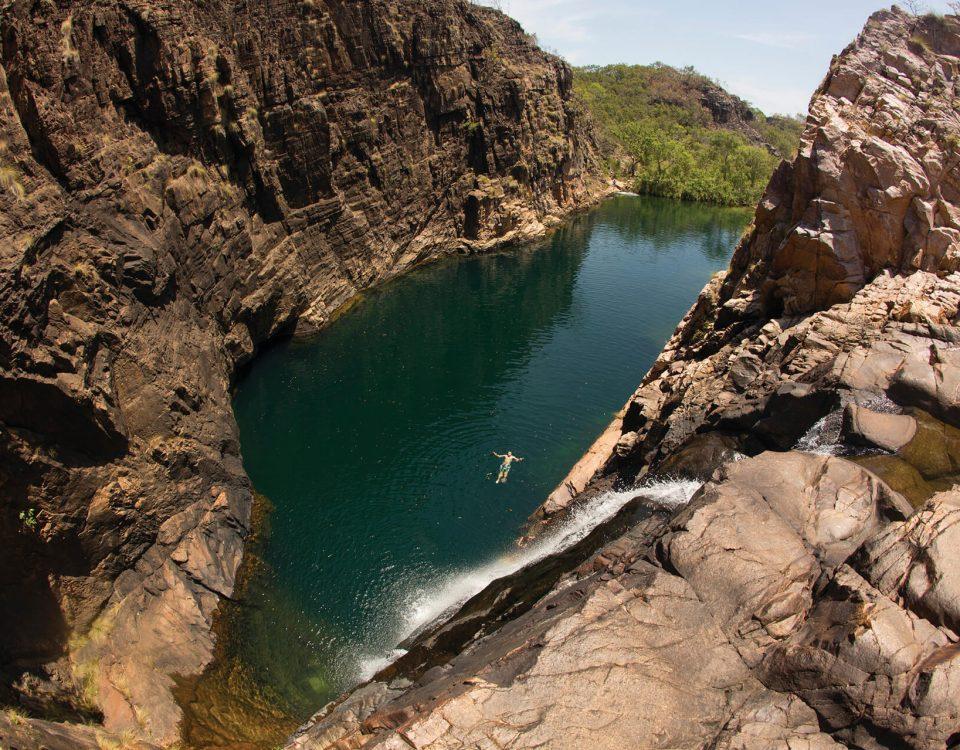 rockpool Gunlom Falls, Kakadu National Park, Northern Territory