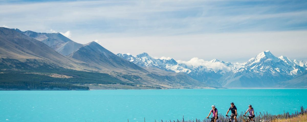 Lake Pukaki, Zuidereiland, Nieuw-Zeeland
